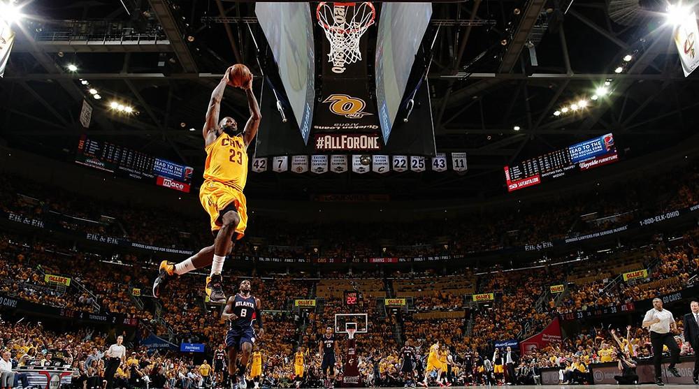 LeBron James luôn là tâm điểm ở mỗi đội bóng anh góp mặt |VUA-THE-THAO