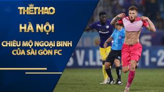 Hà Nội chiêu mộ ngoại binh của Sài Gòn FC