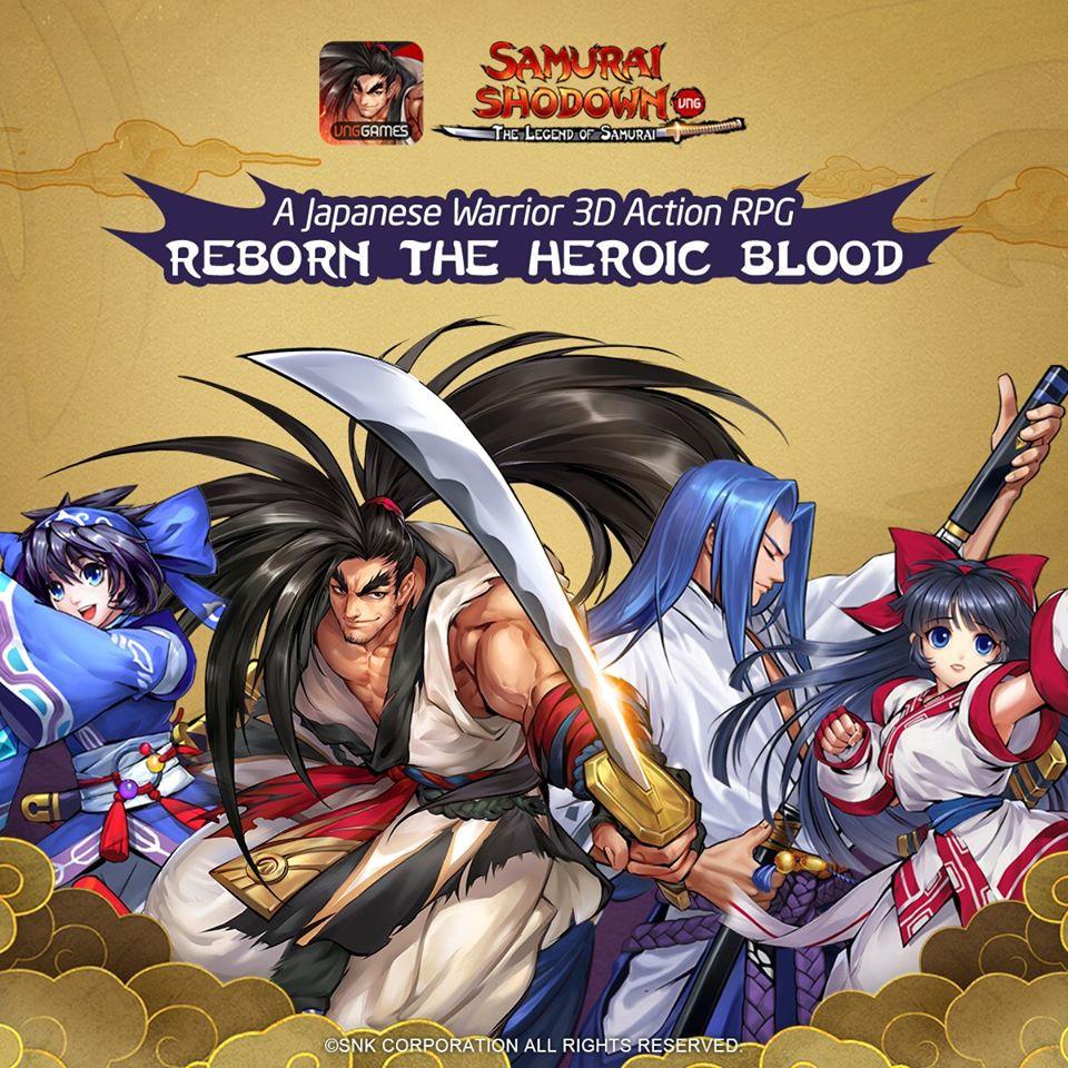 Samurai Shodown – Huyền Thoại Samurai hé lộ lộ trình ra mắt Đông Nam Á |ST666-VN-GAMES