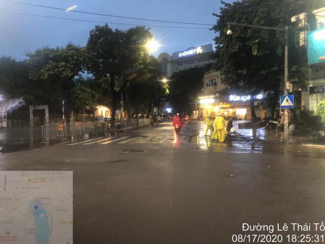 Sau khi mưa tạnh, nước đã rút nhanh chóng |VUA-THE-THAO