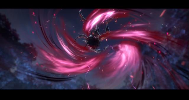 Phân cảnh Yone tung đòn chí mạng vào con quỷ trong cinematic |VUA-THE-THAO