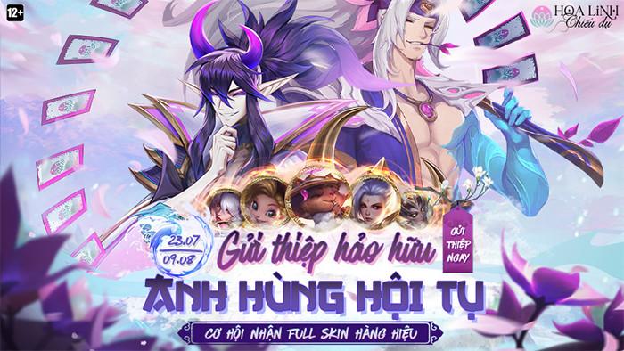 Sự kiện Hoa Linh Chiếu Dụ |ST666-VN-GAMES