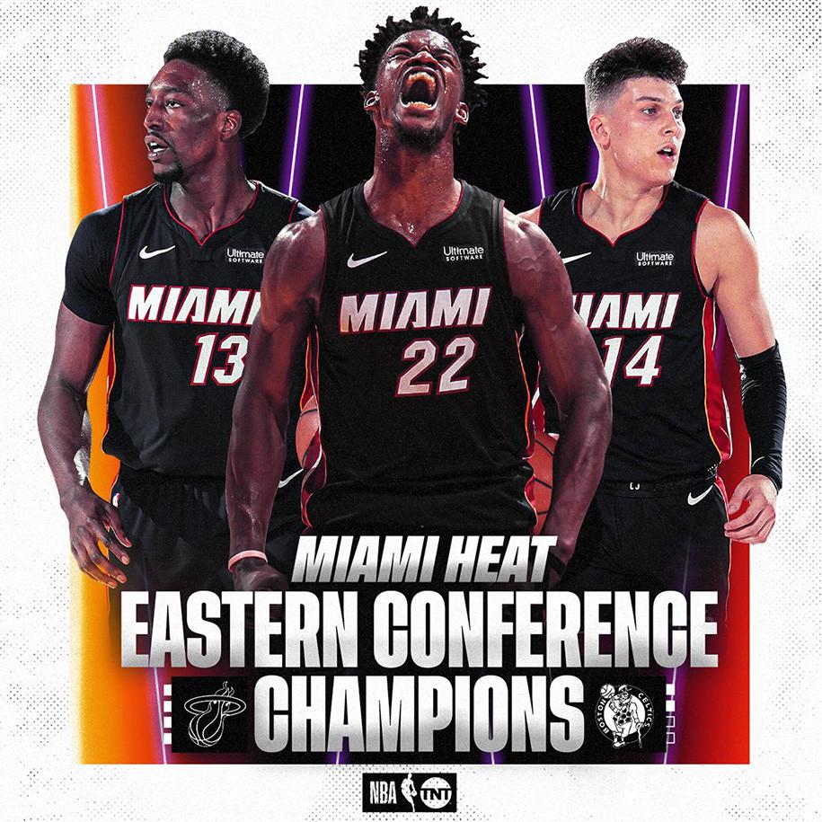 Đây là lần đầu tiên sau 6 năm, đội bóng South Beach trở lại NBA Finals |VUA-THE-THAO