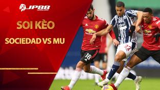 Kèo nhà cái Sociedad vs MU, 00h55 ngày 19/2, Cúp C2 châu Âu