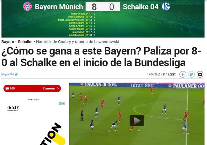 Tờ Marca đặt câu hỏi, làm thế nào để đánh bại được Bayern?  VUA-THE-THAO