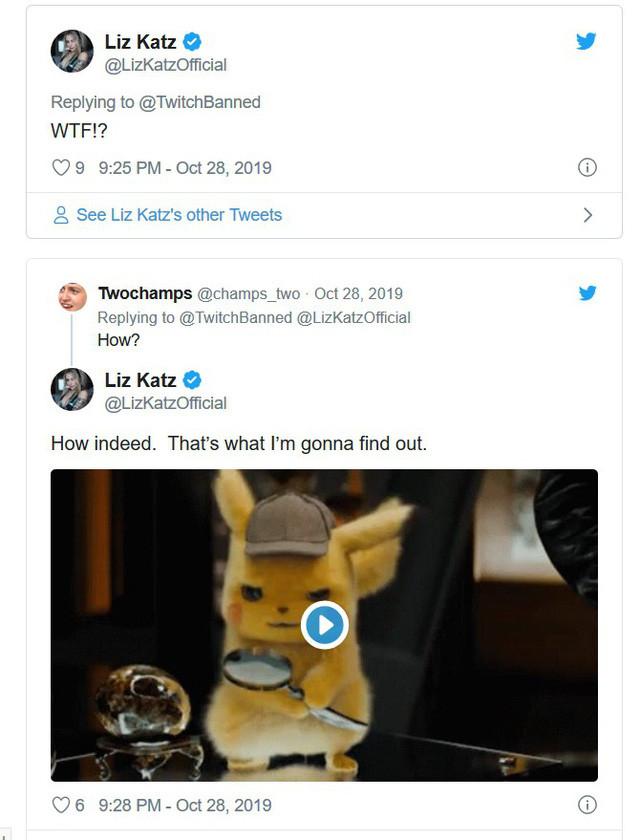 Liz Katz khá bực mình khi bị khóa tài khoản livestream trên Twitch |ST666-VN-GAME