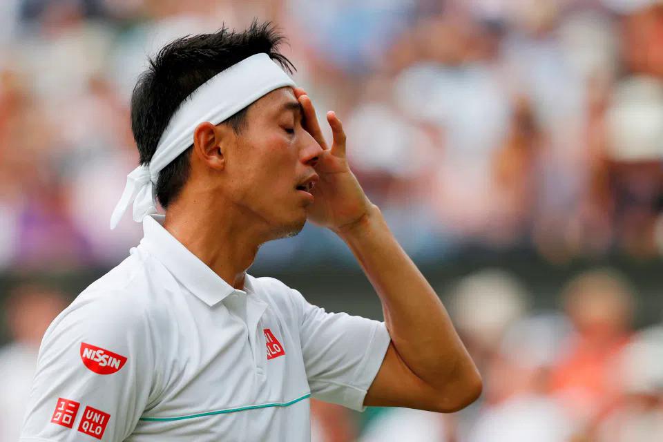 Nishikori từng một lần vào chung kết Grand Slam |VUA-THE-THAO