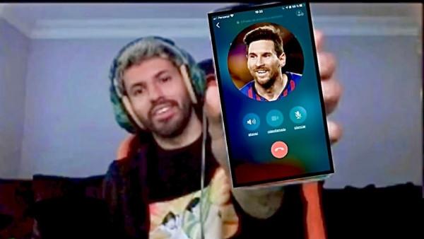 Tuyệt chiêu của Aguero là gọi cho Messi mỗi khi view tụt |ST666-VN-GAMES