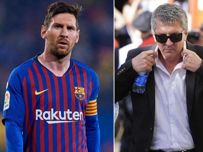 Jorge Messi - bố đẻ kiêm người đại diện của Lionel Messiđang có mặt tại Milan |JP88