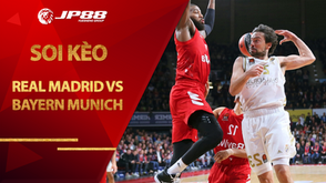 Kèo bóng rổ – Real Madrid vs Bayern Munich – 3h00 – 30/10/2020