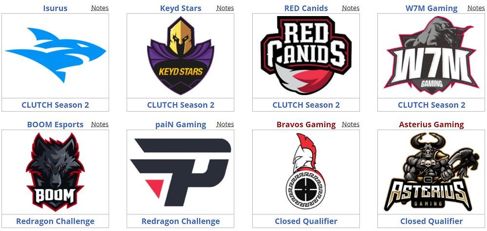 Điểm danh các teams tham dự và phân chia bảng đấu tạiGamers Club Masters V | JP88