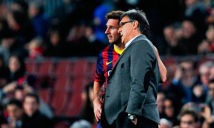 HLV Martino từng không được lòng Messi ở Barca  VUA-THE-THAO
