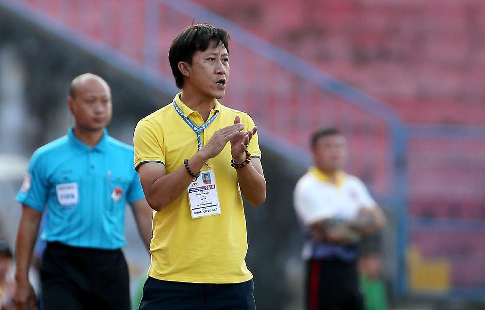 Quảng Nam hy vọng HLV Nguyễn Thành Công giúp đội trụ hạng ở V-League 2020 |JP88