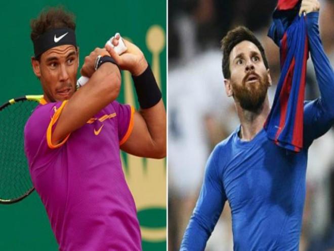 Nadal vàMessi là những ngôi sao thể thao được nhiều người hâm mộ |VUA-THE-THAO