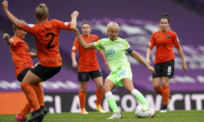 Đội nữ Wolfsburg vừa vùi dập Glasgow City 9-1 ở tứ kết Champions League  VUA-THE-THAO