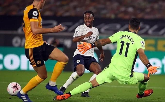 Sterling kiến tạo cho Foden ở bàn thứ hai của Man City  VUA-THE-THAO