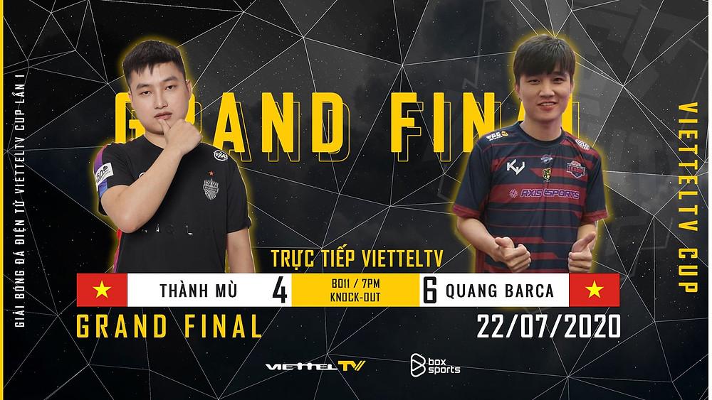 Trận đấu chung kết cực kỳ hấp dẫn với màn rượt đuổi tỷ số ViettelTV Cup  ST666-VN-GAME
