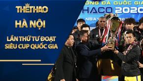 Hà Nội lần thứ tư đoạt Siêu Cup Quốc gia