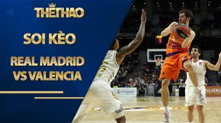 Kèo bóng rổ – Real Madrid vs Valencia – 2h00 – 9/10/2020
