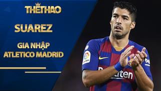 Suarez gia nhập Atletico Madrid