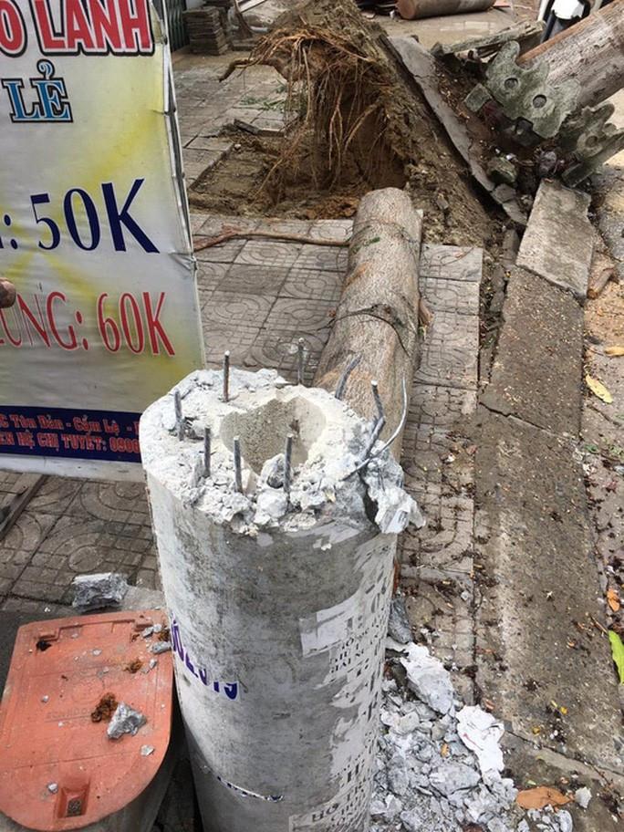 Hình ảnh cột điện gãy đổ trong bão số 5 tại TP Đà Nẵng |JP88