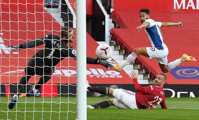 Townsend (phải) mở tỷ số cho Crystal Palace ngay phút thứ bảy |VUA-THE-THAO