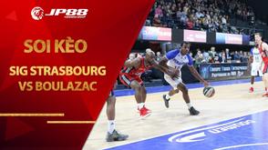 Kèo bóng rổ – SIG Strasbourg vs Boulazac – 2h00 – 20/10/2020