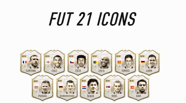 Danh sách những ICONS mới nhất của FIFA 21.  ST666-VN-GAMES