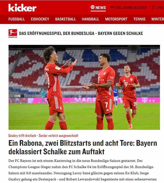 Tờ Kicker cho rằng, Bayern nên được trao luôn cúp ngay sau trận ra quân  VUA-THE-THAO