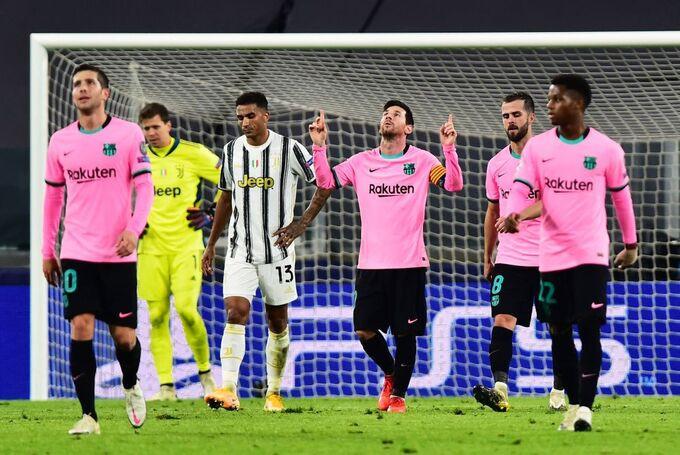 Messi ghi bàn đầu tiên trên sân Juventus trong ba lần đến làm khách tại đây |VUA-THE-THAO