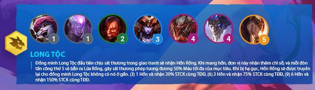 Hiệu ứng của Long Tộc yêu cầu tướng phải đánh đủ 5 đòn để kích hoạt  VUA-THE-THAO