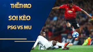 Soi kèo PSG vs MU, 02h00 ngày 21/10, Cúp C1 châu Âu