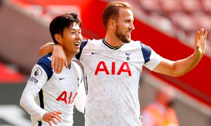 Son và Kane đã có 24 pha phối hợp ghi bàn tại Ngoại hạng Anh kể từ 2015 |VUA-THE-THAO
