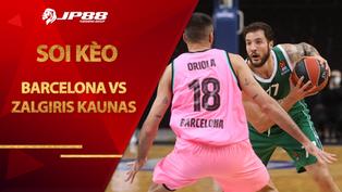 Kèo bóng rổ – Barcelona vs Zalgiris Kaunas – 3h00 – 19/2/2021