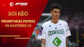 Kèo bóng rổ – Promitheas Patras vs Nanterre 92 – 23h15 – 21/10/2020