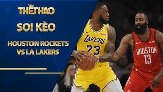 Kèo nhà cái bóng rổ – Houston Rockets vs LA Lakers – 7h00 – 11/1/2021