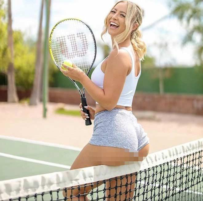Maddie Lethbridge tiết lộ quần vợt chính là đam mê số 2 của cô sau bóng chuyền |VUA-THE-THAO