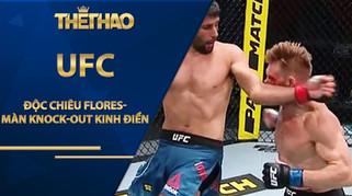 """Độc chiêu Flores dùng đấu Lưu Cường """"gây bão"""" UFC: Màn knock-out kinh điển"""