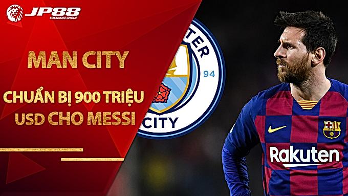 Diario Sport: 'Man City chuẩn bị 900 triệu USD cho Messi'