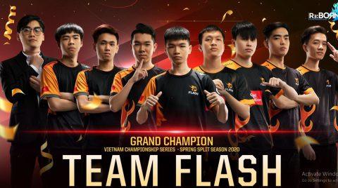 """Team Flash """"thay máu"""" gần cả đội hình cho mùa giải 2021  VUA-THE-THAO"""