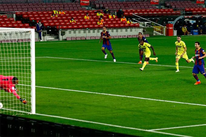 Messi góp một bàn vào chiến thắng của Barca |VUA-THE-THAO