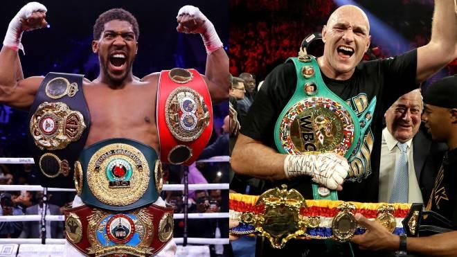 Joshua (phải) tự tin sẽ đánh bại Fury |VUA-THE-THAO