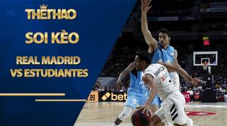 Kèo bóng rổ – Real Madrid vs Movistar Estudiantes – 0h30 – 26/10/2020