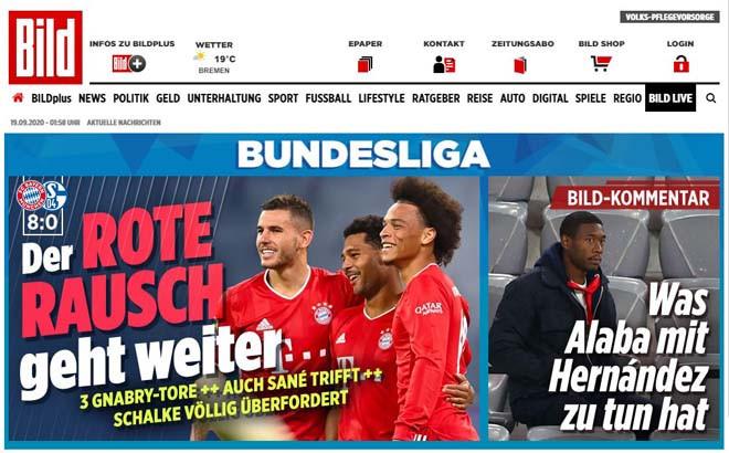 Tờ Bild choáng ngợp trước sức mạnh của Bayern  VUA-THE-THAO