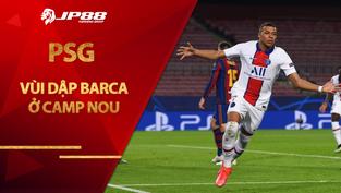 PSG vùi dập Barca ở Camp Nou