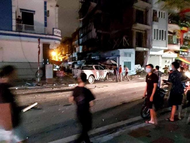 Hiện trường vụ tai nạn |VUA-THE-THAO