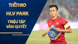 HLV Park triệu tập Văn Quyết