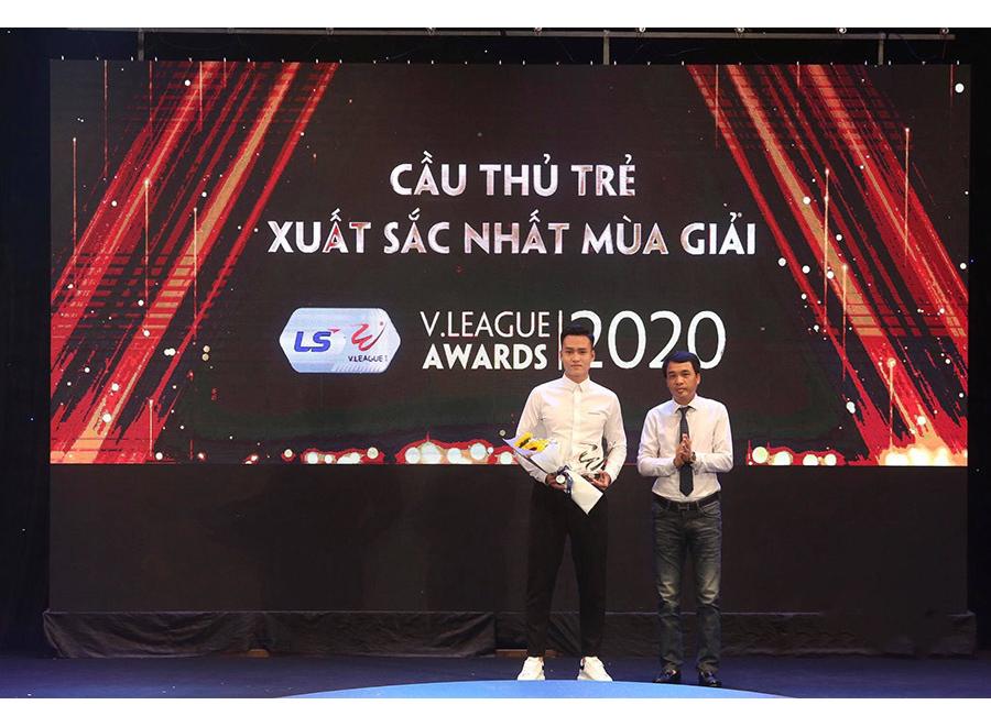 Cầu thủ trẻ xuất sắc nhất V-League 2020: Bùi Hoàng Việt Anh |VUA-THE-THAO