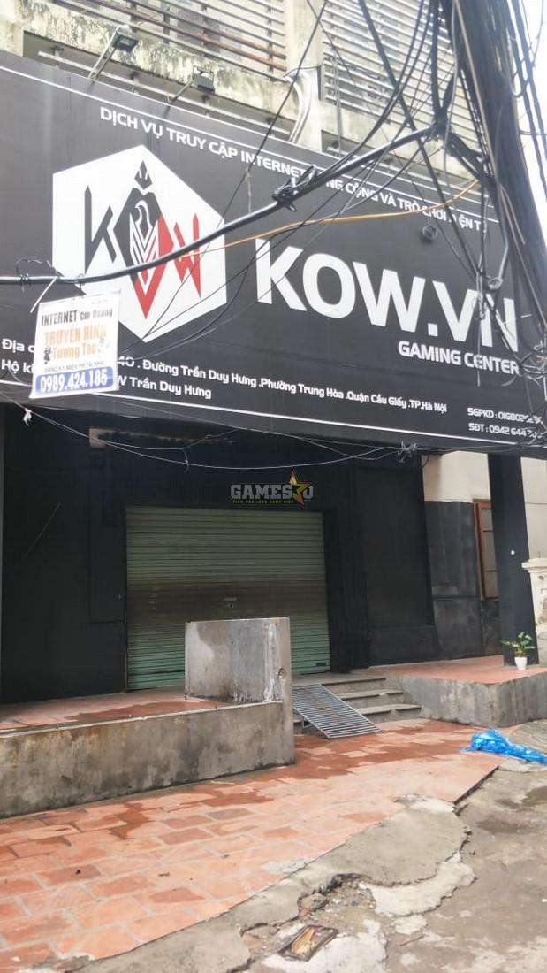 Một cyber game trên đường Trần Duy Hưng hạ cửa sắt ngoài |VUA-THE-THAO