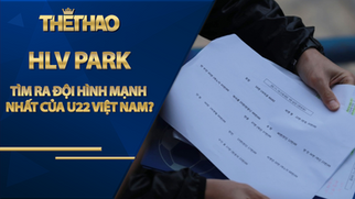 HLV Park Hang Seo đã tìm ra đội hình mạnh nhất của U22 Việt Nam?
